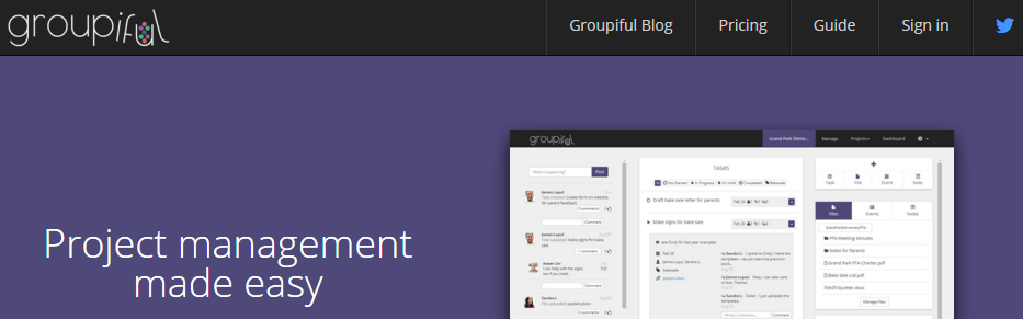 Groupiful - Project management made easy