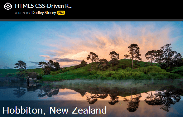 HTML5 CSS-Driven Responsive Image Slider With Captions Dudley Storey