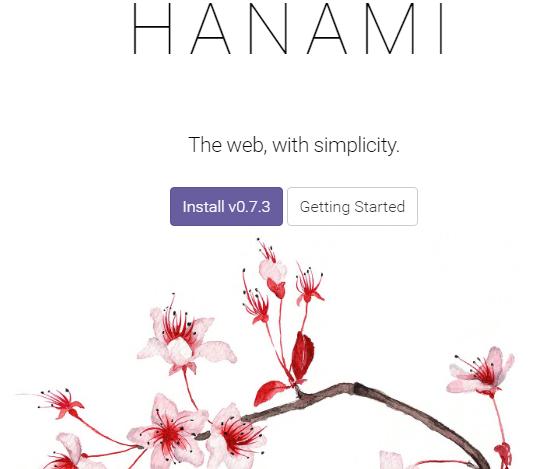 Hanami The web