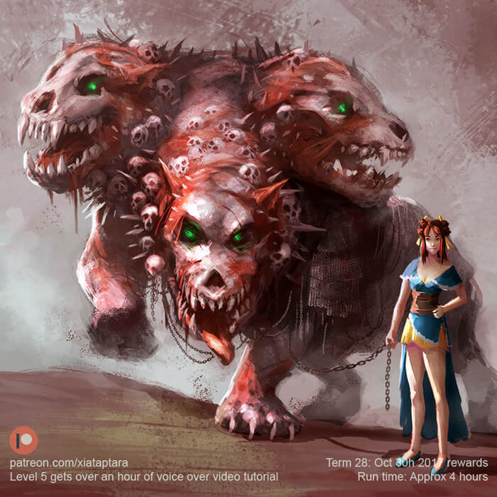Hell hound by XiaTaptara