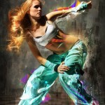 Hip Hop Breakdance Manipulation Digital ART-3