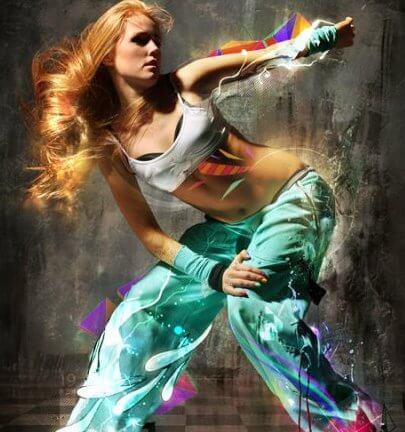 Hip Hop Breakdance Manipulation Digital ART-3