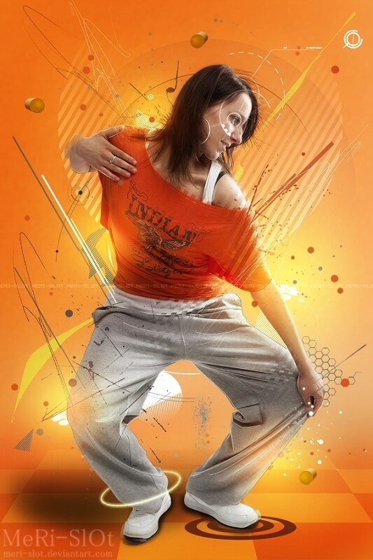 Hip Hop Dancer by MeRi-SlOt