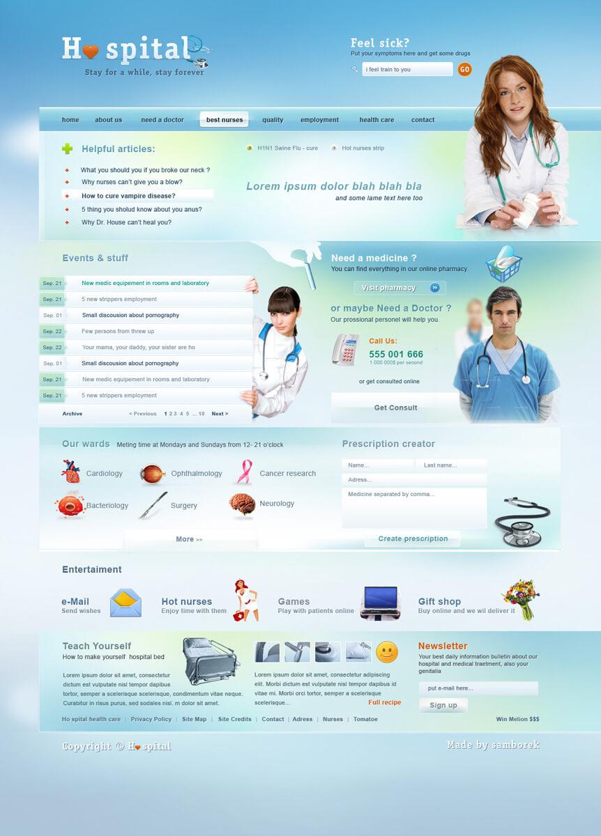Ho spital design by samborek