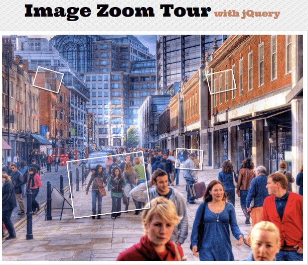Image Zoom Tour