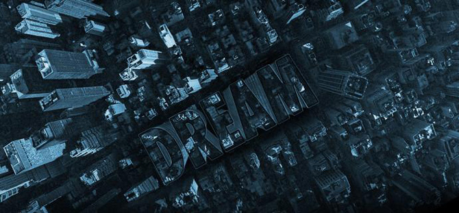 Inception Poster with Repousse in Photoshop CS5