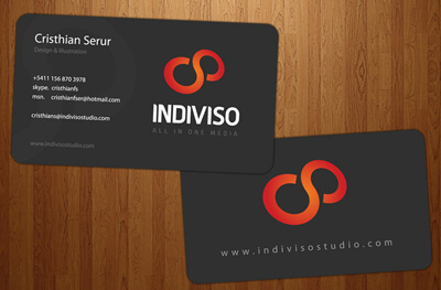 Indiviso Cards by burnsflipper