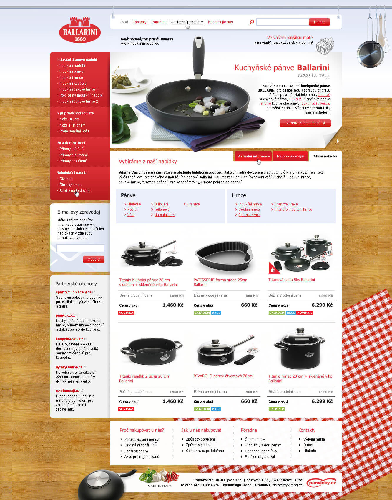Induction cookware shop by ~romankac
