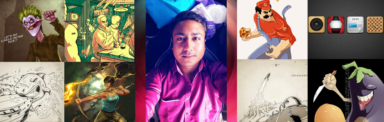 Interview with Indian Digital Artist Nirman Sarkar