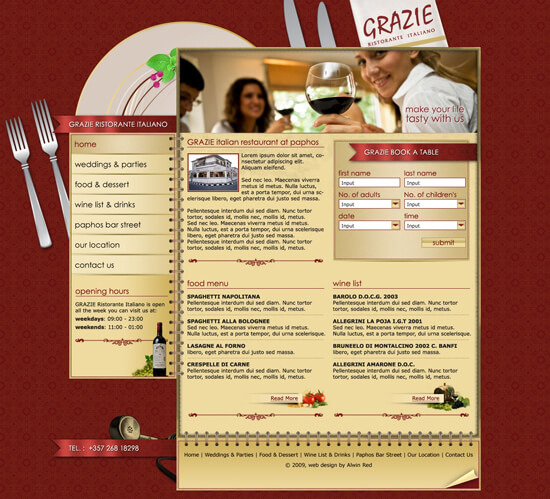 Italian Restaurant by ~alwinred