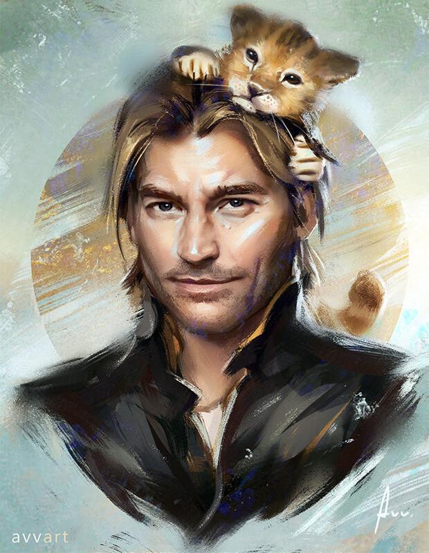 Jaime Lannister by avvart
