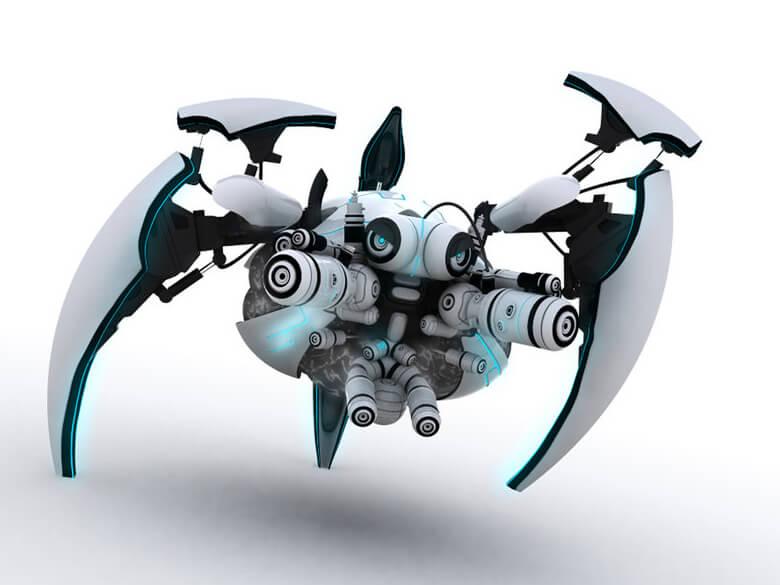 Jake - Interface robot tripod by ~JK-Studios
