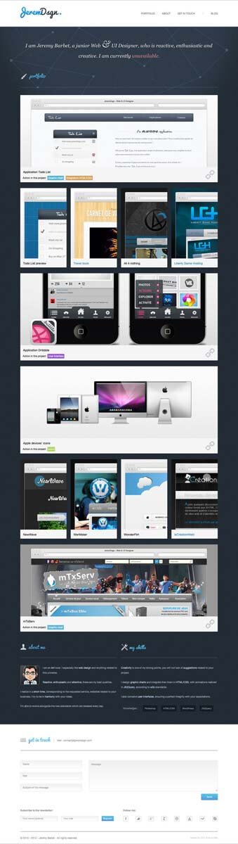 JeremDsgn - Web and UI Designer by JeremDsgn