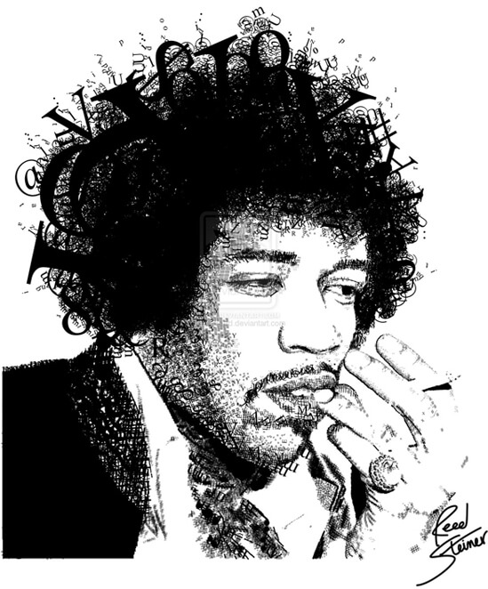 Jimi In Tyep by ~icantreed
