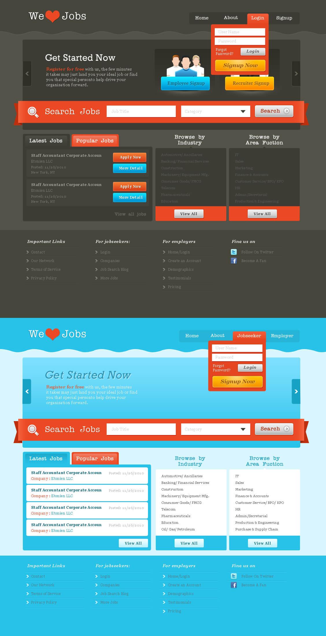 Job Portal - wordpress by prkdeviant