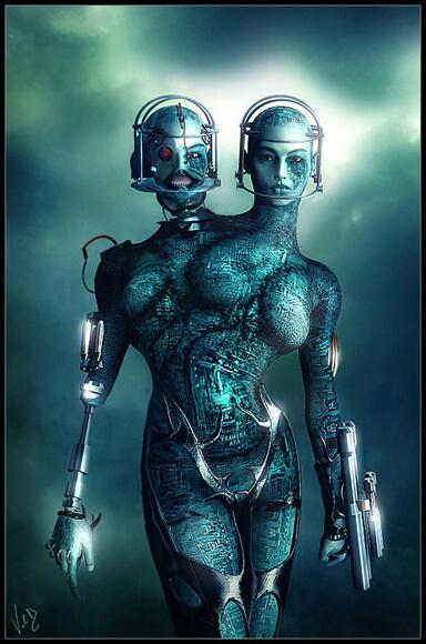 Killing Machine 01 by ValentinaKallias