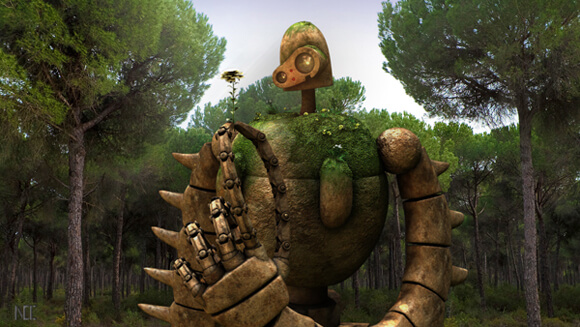 Laputa Robot Guardian by ~NightmaresInd