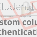 Laravel custom columns login authentication