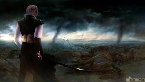 Last Man Standing by akreon