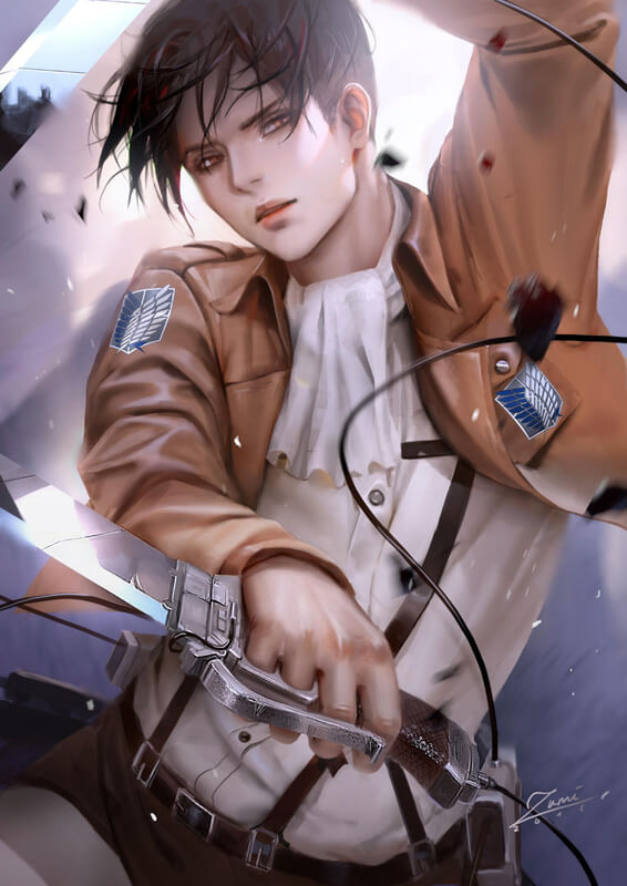 Levi by zumidraws