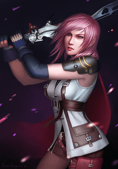 Lightning by Irina-Isupova