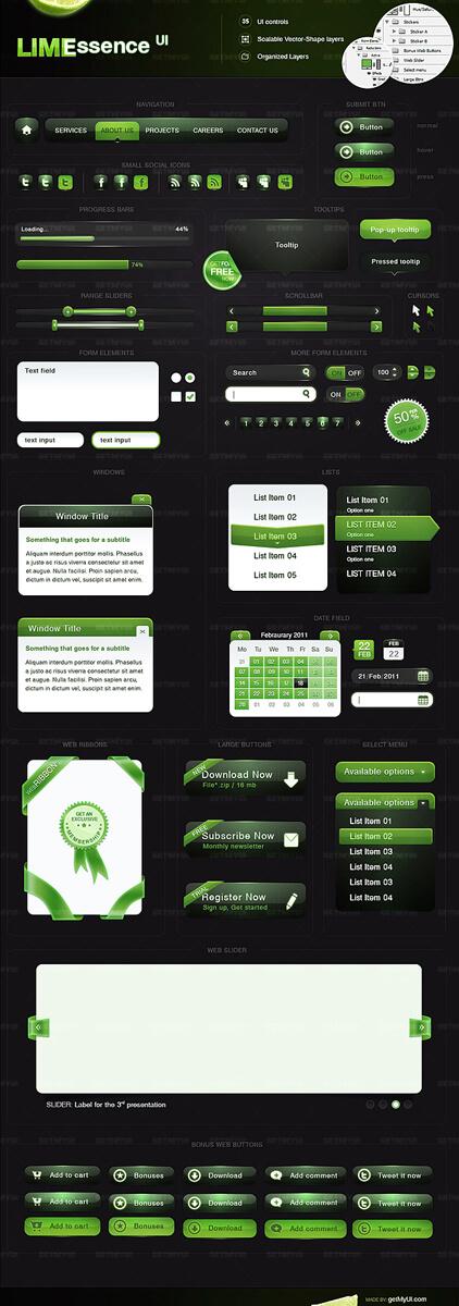 Lime Essence UI by ~getmyui