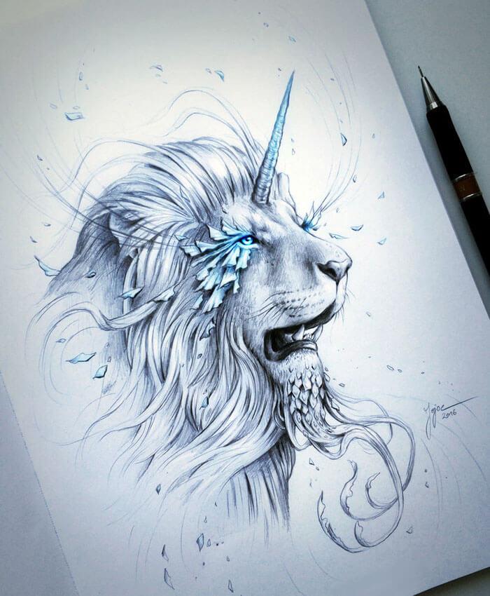 Lionicorn by JoJoesArt
