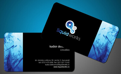 LiquidWorks Business Card by iTudor