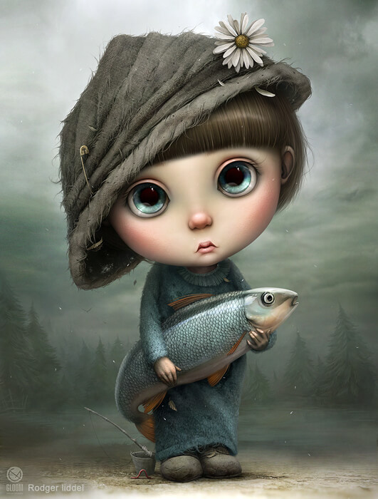 Little Fisherman by Gloom82