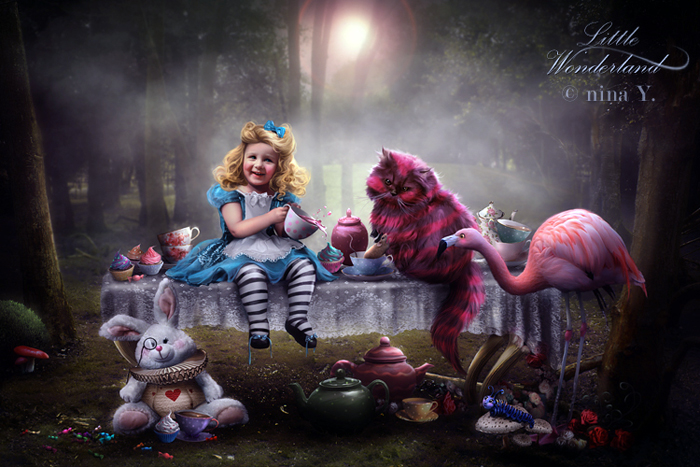 Little Wonderland Little Fairy Tales by nina-Y