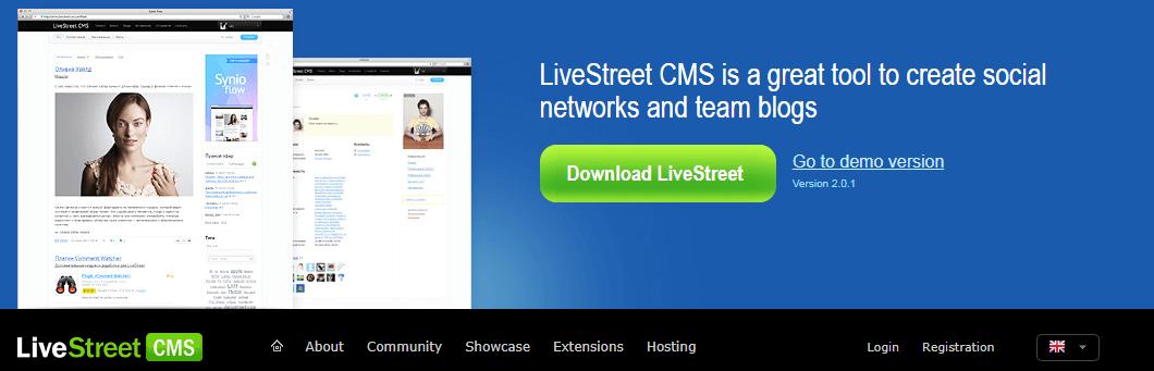 LiveStreet CMS
