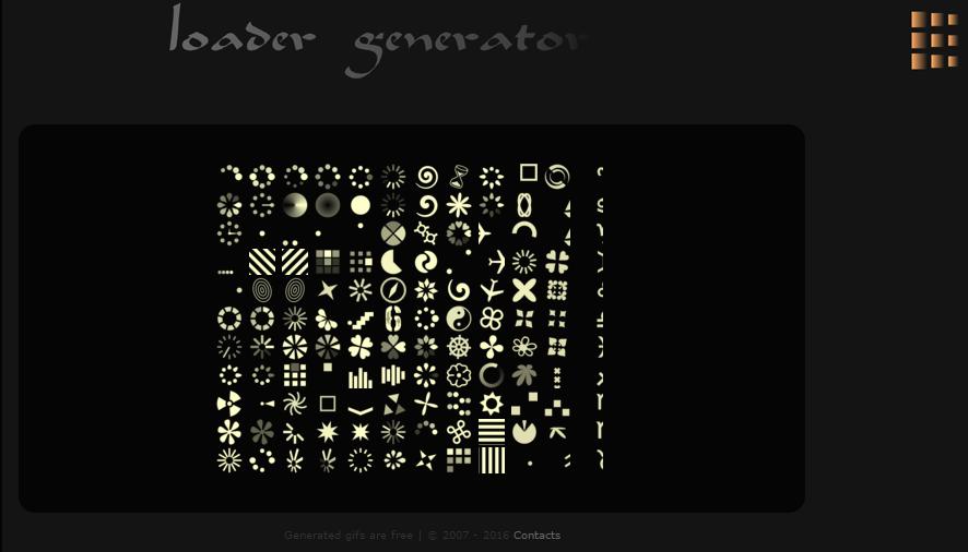 Load Info - gif generator