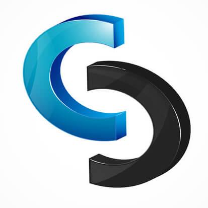 Logo-13 - CsC-3d Logo by rixlauren