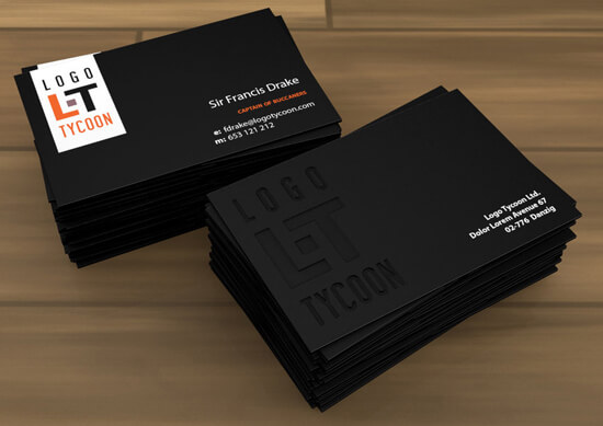 Logo Tycoon business card by Kurczak