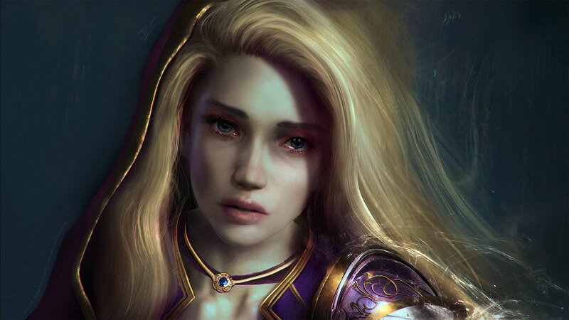 M E L A N C H O L I A - World of Warcraft by Eddy-Shinjuku