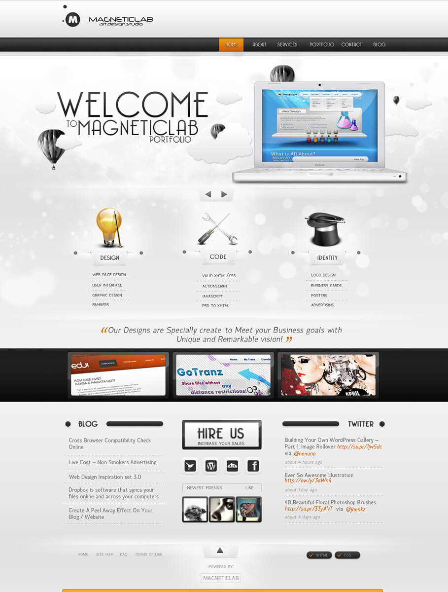 MAGNETICLAB Portfolio Clean by magneticlab