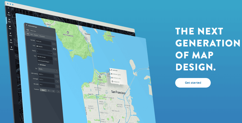 Mapbox Design and publish beautiful