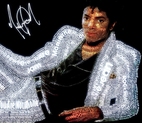 Michael Jackson Typeface by ~PhreshSoldier