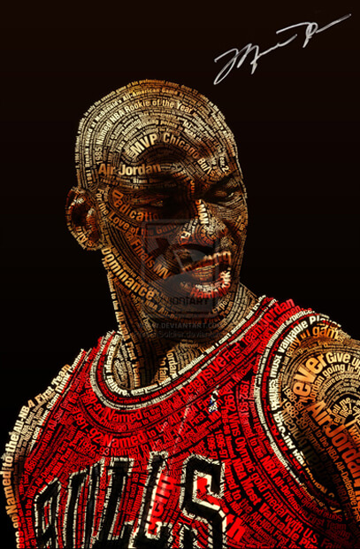 Michael Jordan Typeface by ~PhreshSoldier