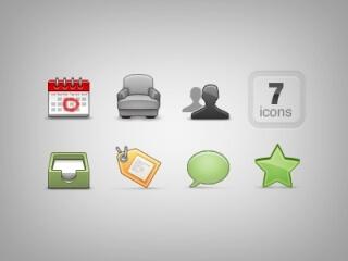 Mini icon set by tomeqq