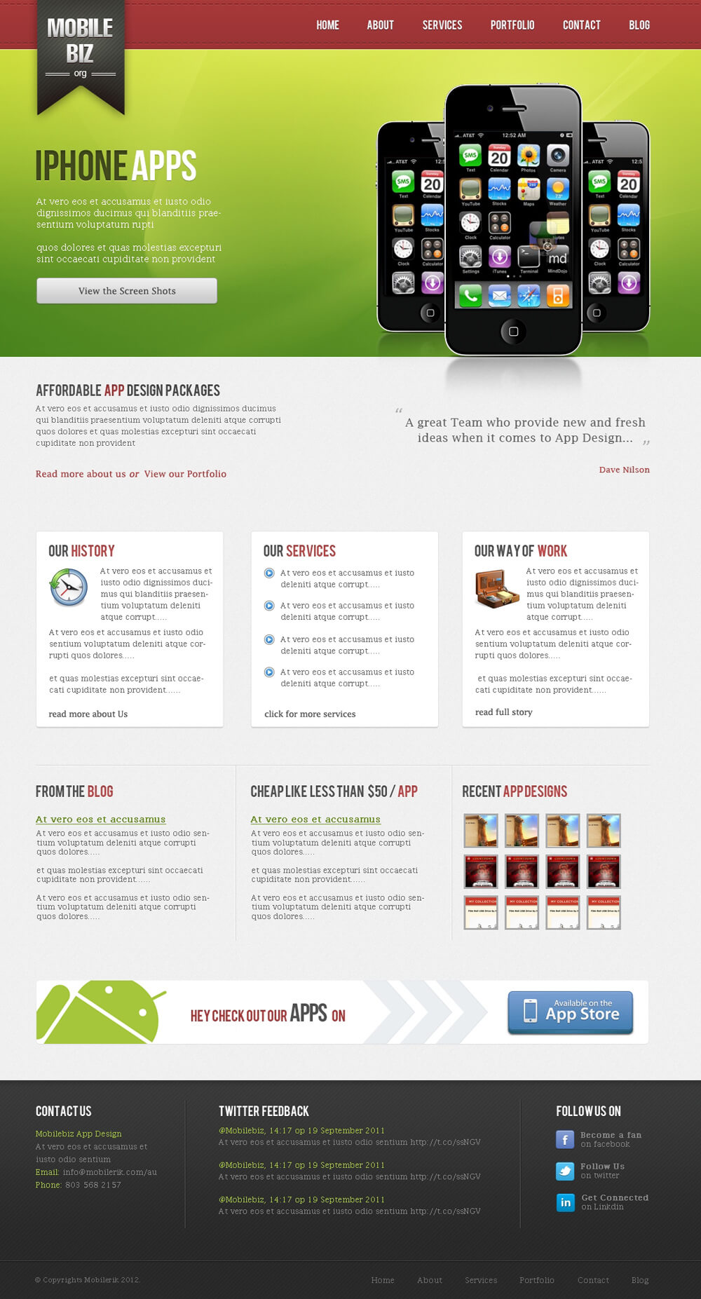 Mobilebiz IPHONE APPS 1 by 0wais