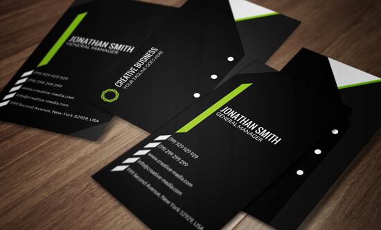 Modern Corporate Business Card SE0052 by annozio