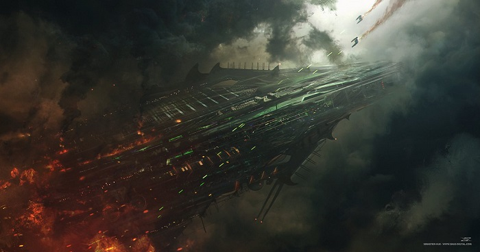 Mothership Down by Shue13