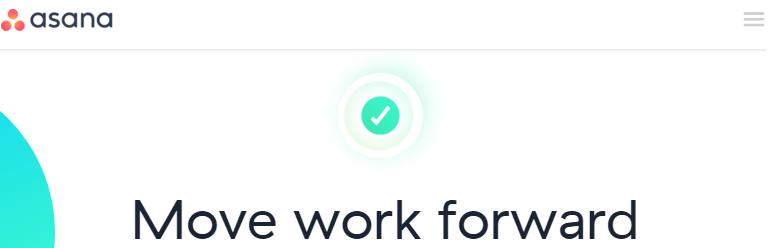 Move work forward · Asana