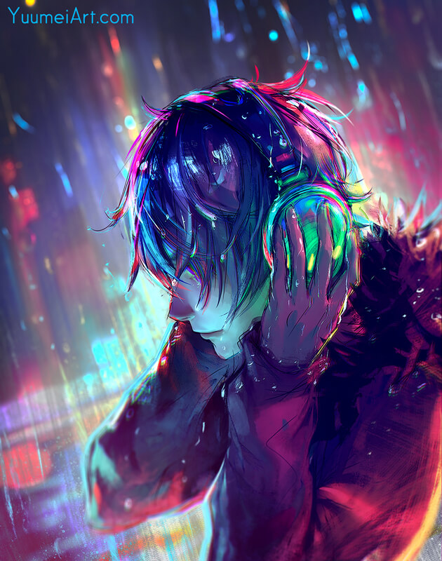 Muted Sound by yuumei