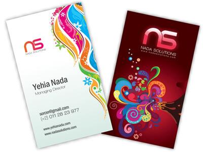 NadaSolutions Business Card by nadasol