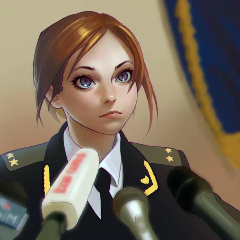 Natalia Poklonskaya by Kuvshinov-Ilya