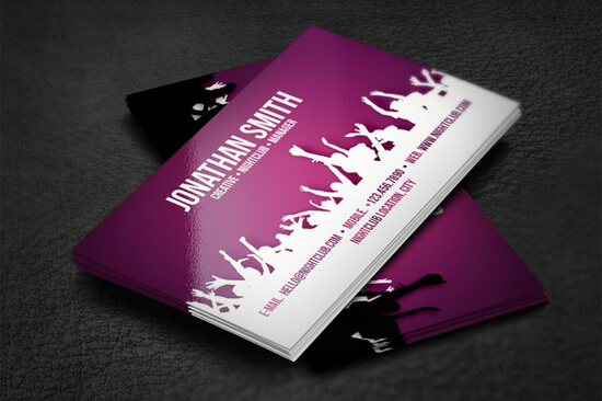 NightClub Business Card by artnook