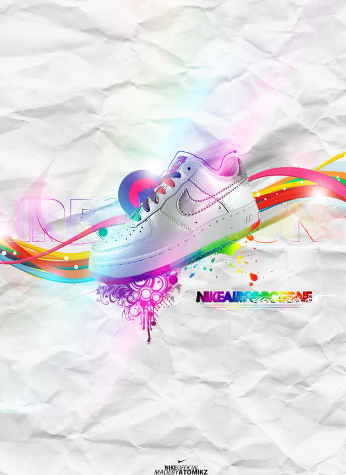 Nike Air Force One by  AtOmiKzz