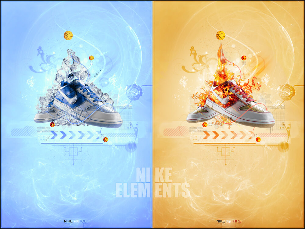 Nike Elements Fire and Ice by liadN